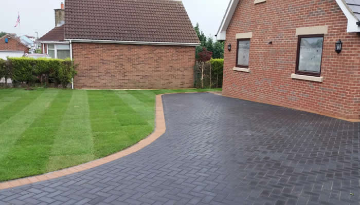 block paving driveway cost