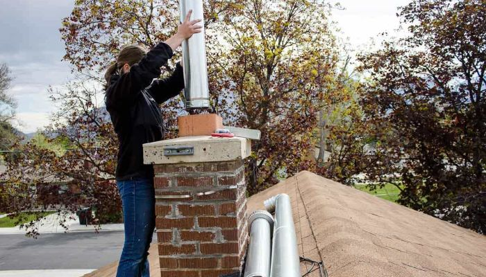 installing a chimney liner cost
