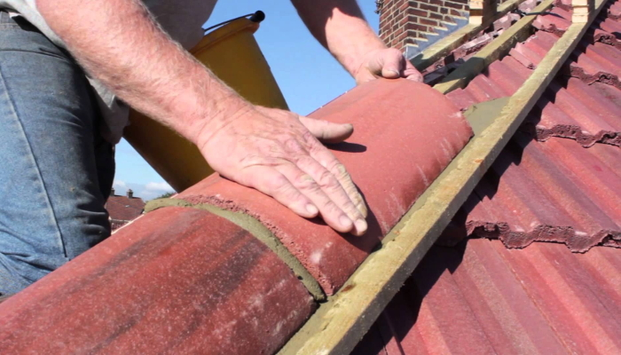 Cost of Recementing Ridge Tiles