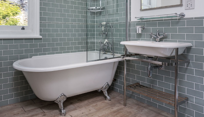 replace bath, sink and taps